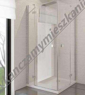 kabiny prysznicowe bez brodzika Kerra
