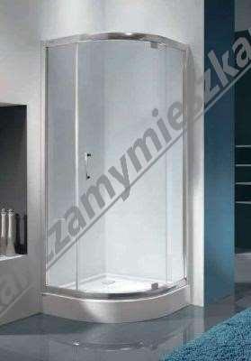kabiny prysznicowe bez brodzika Omnires